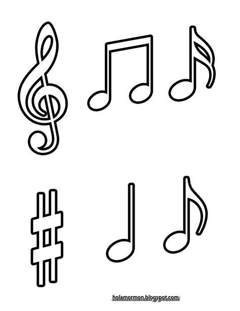 imagenes notas musicales animadas image gallery notas musicales para colorear