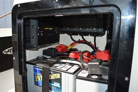 mounting battery charger on boat choosing a bow mounted trolling motor system part ii