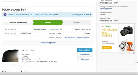 ebay global shipping tracking global shipping center and tracking the ebay community