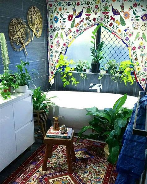 hippie home decor 409 best bohemian bathrooms images on house