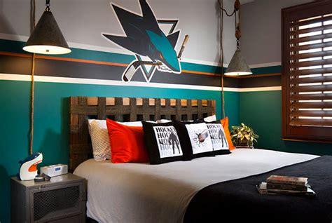 Bedroom Sets San Jose Contemporary San Jose Sharks Room Contemporary Bedroom San Diego