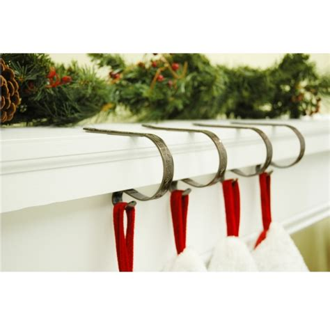 christmas stocking mantel clips suction cups direct
