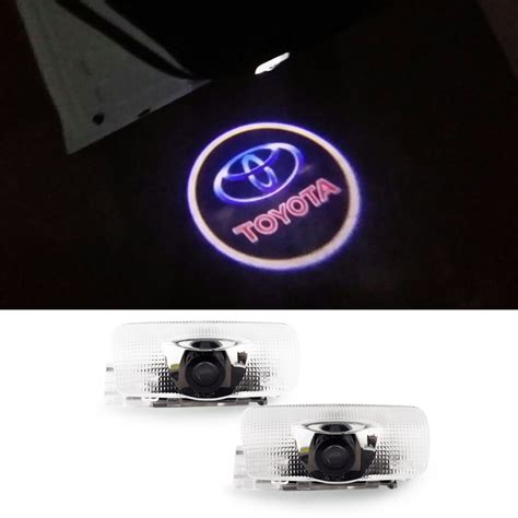 Logo Projection Led Toyota 2 x car door courtesy projector led logo ghost shadow