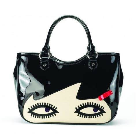 New Season Lulu Guinness Preview by Lulu Guinness Small Wanda Handbag Bag Hag