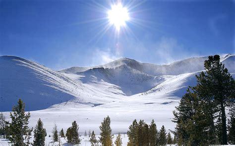 imagenes de invierno 1920x1200 winter sun desktop pc and mac wallpaper