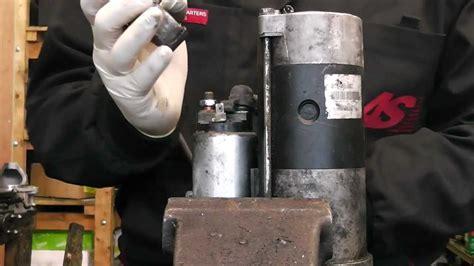 mitsubishi pajerol starter motor solenoid  bendix