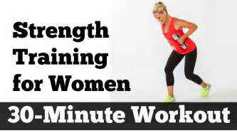 30 minute strength for home workout for
