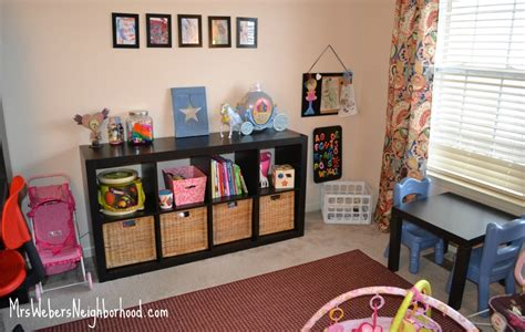 kid toy storage new year new office playroom space