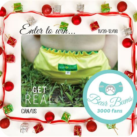 Apple Product Giveaway Real - get real apple cheeks diaper giveaway ends 12 08 conservamom