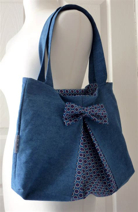 tote bag pattern with bow easy bow bag sewing pattern