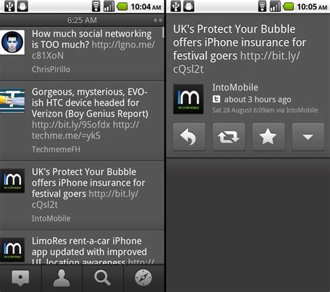 tweetdeck for android tweetdeck beta for android updated to v0 9 5