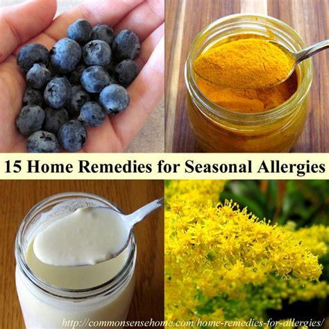 home remedies for allergies home remedies for seasonal allergies