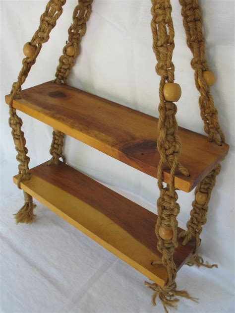Macrame Hanging Shelf by 17 Best Images About Macrame On Macrame Bag