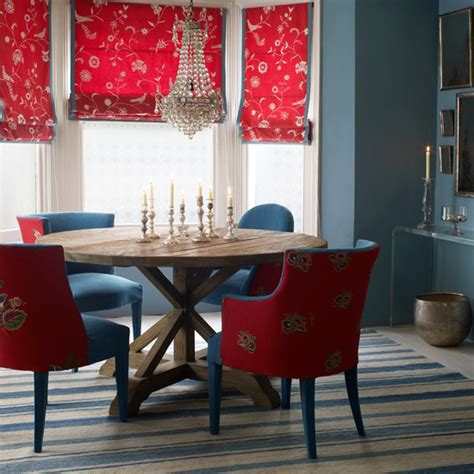 red blue room red white and blue rooms from classic to contemporary