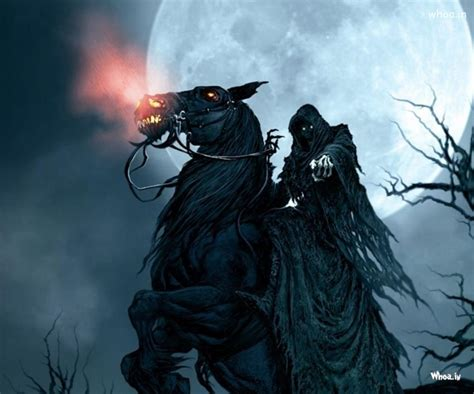 horror wallpapers for android hd dark horror man with horse hd wallpaper