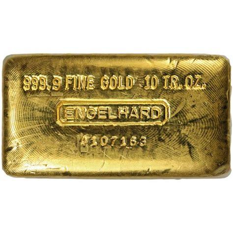 10 Oz Engelhard Silver Bar Price by Buy 10 Oz Engelhard Gold Bars Jm Bullion