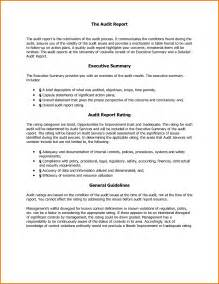 Sample Executive Summary Of A Report Report Executive Summary How To Write
