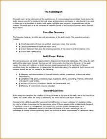 report executive summary how to write