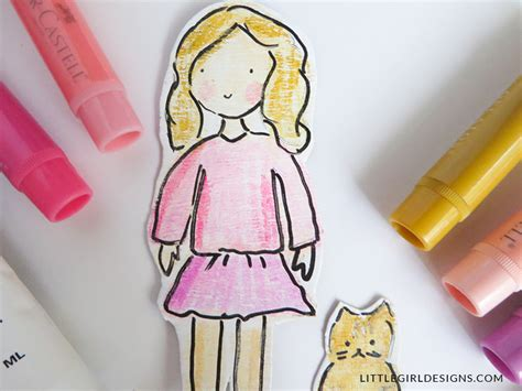 How Do You Make Paper Dolls - how do you make a paper doll 28 images how to make a