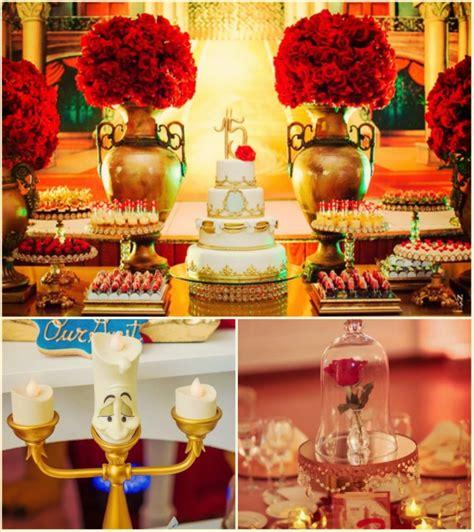 decoracion la bella y la bestia ideas para tu fiesta la bella y la bestia blog de la