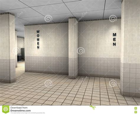 public bathroom men public bathroom restroom entrance illustration stock illustration image 72459557