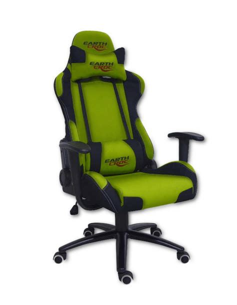 professional computer gaming chair earthcroc professional green pc gaming chair