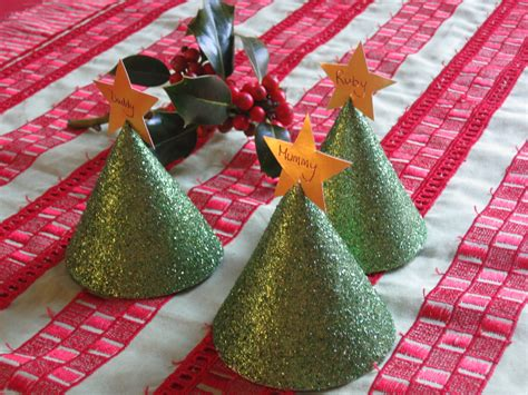 me and my shadow christmas crafts tree table place markers