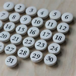 Home Office And Craft Room - perpetual calendar magnets magnetic calendar by 645workshop