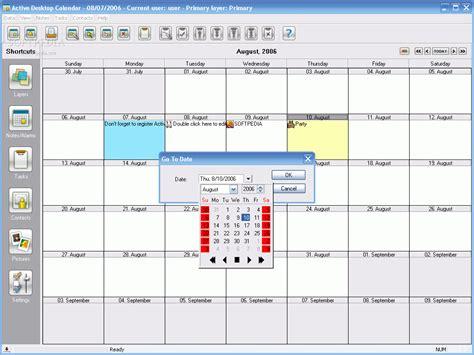 Active Desktop Calendar Active Desktop Calendar 7 93 Inlebf