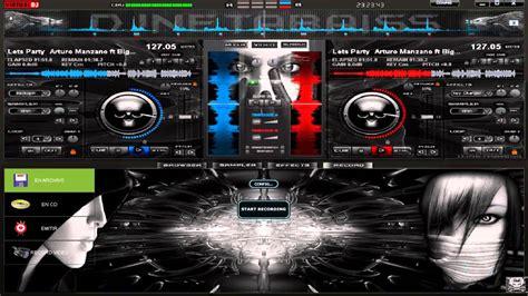 imagenes de virtuales dj nuevo skin dark elegant 3d para virtual dj 7 2013 youtube