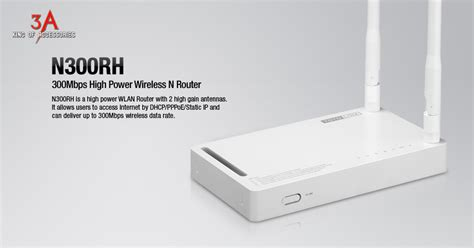 Totolink Wireless N 24ghz Aprouter N300rh bộ ph 225 t wifi 2 r 226 u c 244 ng suất ph 225 t cực khủng 500mw 2 angten rời totolink n300rh
