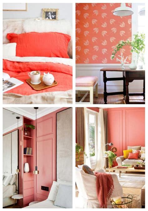coral color home decor pantone s 2019 color 28 living coral home decor ideas