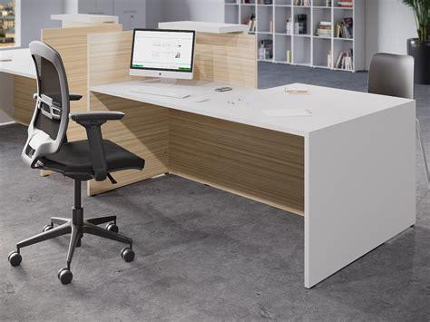dda reception desk buronomic fifty fifty white dda reception desk