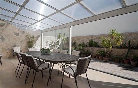 copertura trasparente per terrazzi copertura in vetro pergole e tettoie da giardino