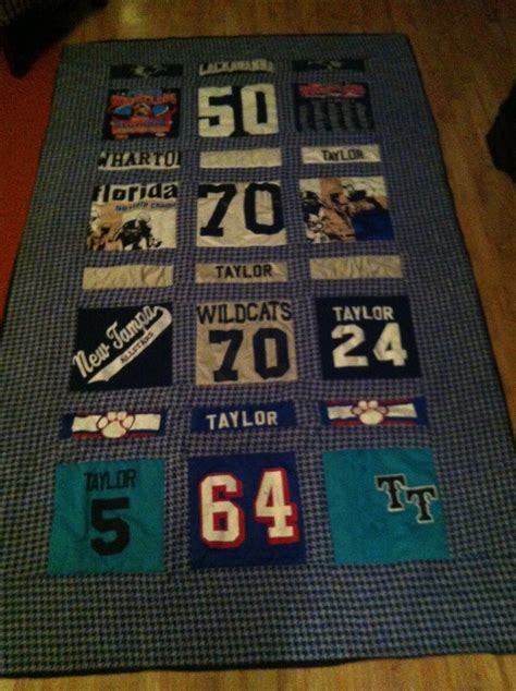 Quilts Made From Sports Jerseys by 17 Best Images About Quilts On When You Leave
