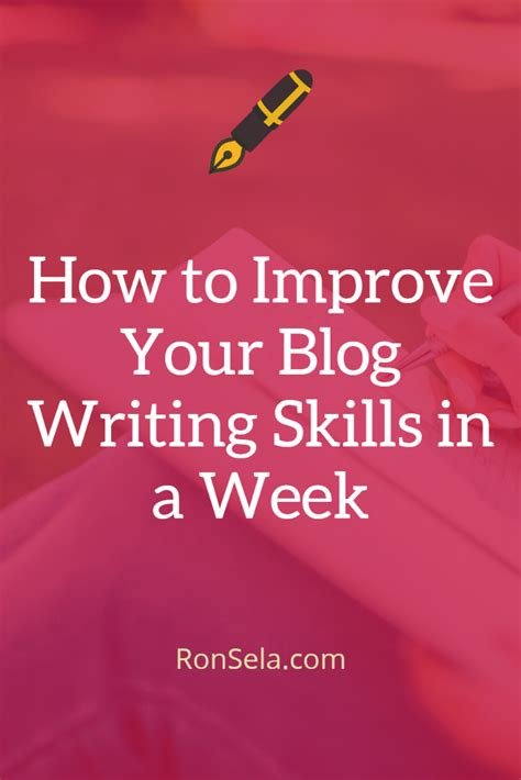 How To Improve Essay Writing Skills by How To Improve Your Writing Skills In A Week