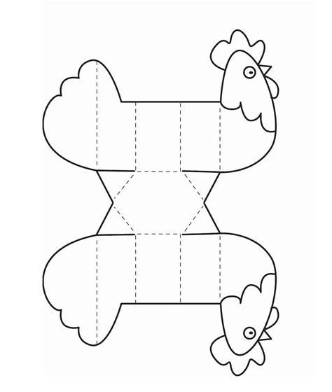 manualidades con fotografias az dibujos para colorear gallina recortable para colorear manualidades para ni 241 os