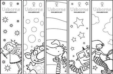 printable preschool bookmarks printable bookmarks and bookplates to color preschool