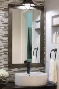 bathroom modern tile ideas backsplash: bathroom backsplash with framed mirror bathroom backsplash with mirrorjpg bathroom backsplash with framed mirror