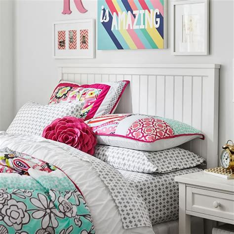 headboards for teens beadboard basic headboard pbteen