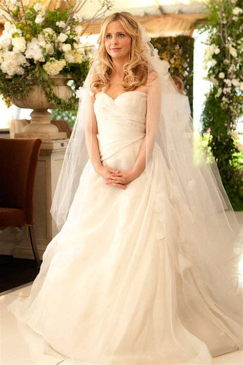 Top 10 Celebrity Wedding Dresses in Movies and TV