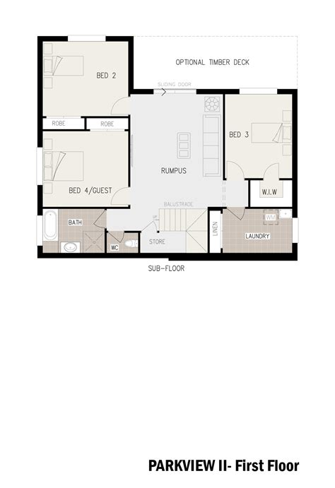 house floor plans sloping blocks parkview ii split level sloping block marksman homes