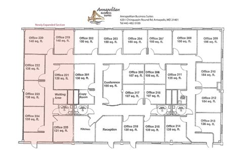 executive office floor plans executive office space in annapolis maryland 187 floor plan