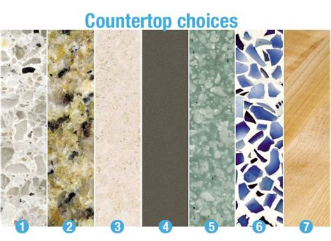 Countertop Types by 25 Best Ideas About Types Of Granite On Types