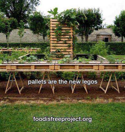Pallet Vegetable Garden Homie Gardening In Pallet Vegetable Garden