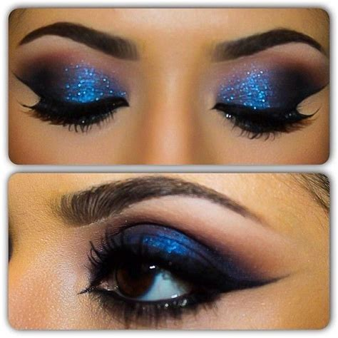 how to make up for a photo 76 years old smokey blue eyeshadow looks www pixshark com images