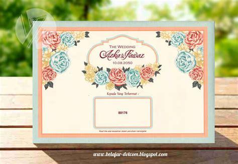 membuat undangan tinta emas update desain dan harga blanko undangan erba terbaru tahun