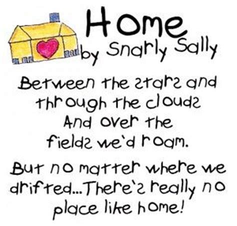 poem poem and poem home sweet home home