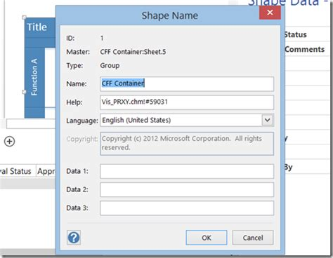 visio 2010 comparison displaying sharepoint document library column values on