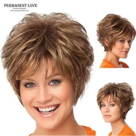 were can i buy a pixe cut wig synthetic hair fluffy women short wigs blonde wig pixie
